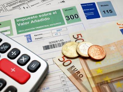 Nuevos tipos de IVA aplicables a determinadas operaciones