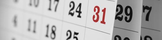calendario fiscal octubre 2019