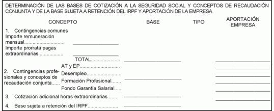 6 MESES PARA CAMBIAR LAS NÓMINAS: MODIFICACIÓN DEL RECIBO DE SALARIOS